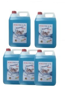 5 x 5 Liter Primax Flüssigwaschmittel Test