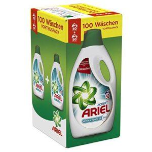 Ariel mit Febreze Flüsigwaschmittel Test