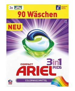 Ariel 3 in 1 pods colorwaschmittel test