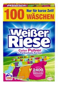 weißer riese colorwaschmittel im Test