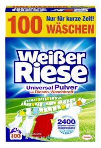 weißer riese universal waschmittel test